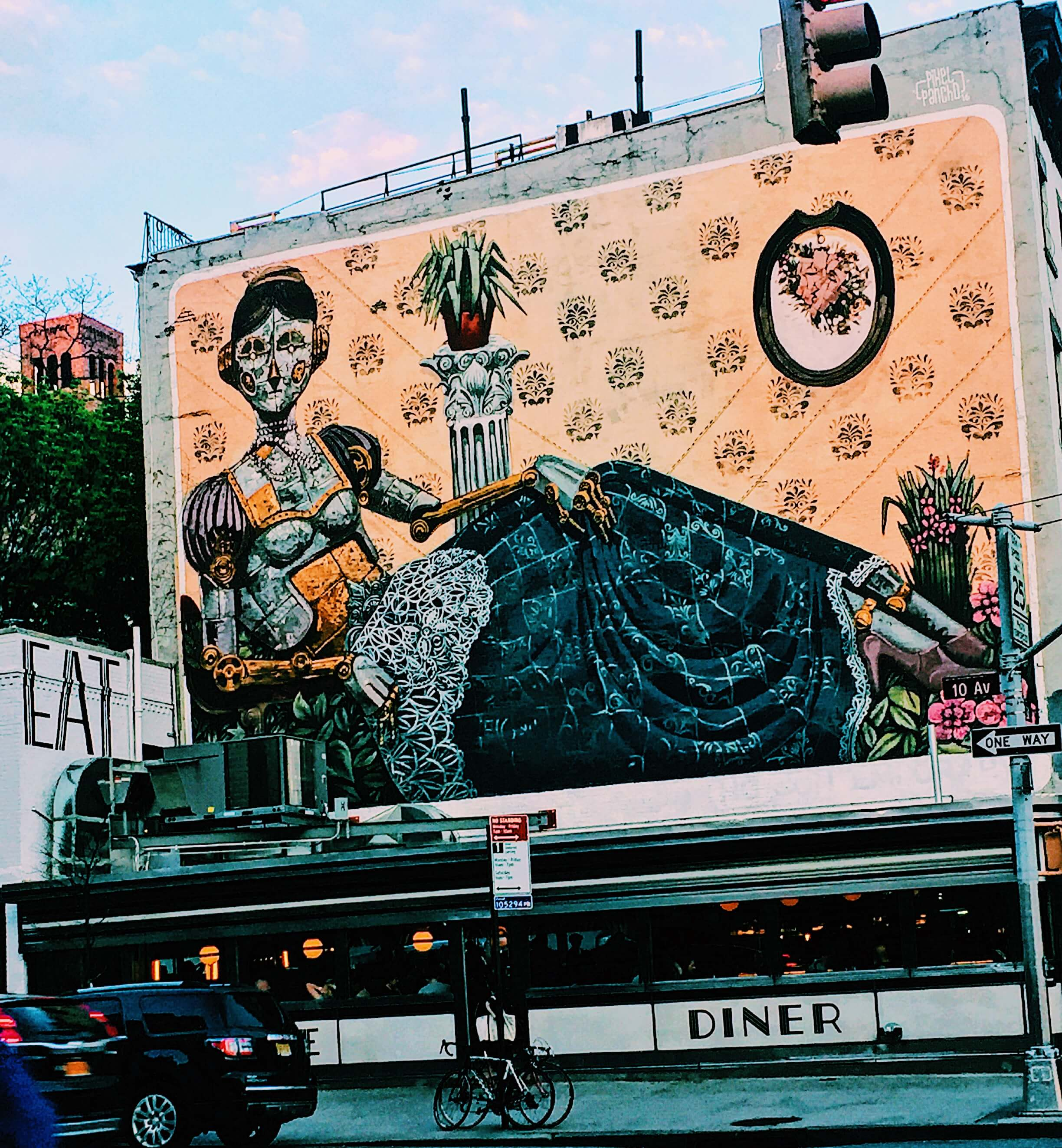 NYC Murals - For Raha and Lemons